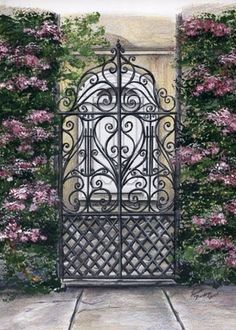 Iron Gates are very popular in Charleston by Sunday Rose