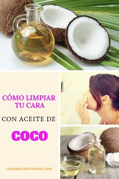 Cómo limpiar tu cara con aceite de coco - La Guía de las Vitaminas Cleanser For Oily Skin, Moisturizer, Drugstore Skincare, Toilet Cleaning, Acne Skin, Tips Belleza, Combination Skin, Korean Skincare, Natural Skin Care