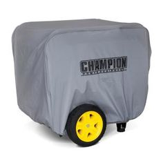 Champion Power Equipment Large Weather Proof Custom Made Vinyl Generator Cover-C90016 - The Home Depot
