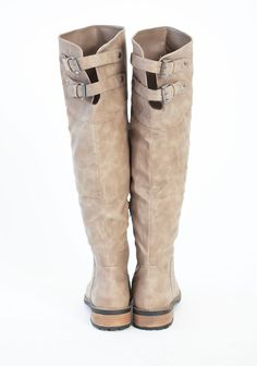 capital legacy knee-high boots in taupe