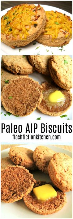 Paleo AIP Vegan Biscuits from Flash Fiction Kitchen