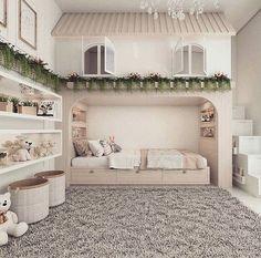 Best Ideas For Baby Girls Bedroom Montessori Room Design Bedroom, Kids Bedroom Designs, Cute Bedroom Ideas, Home Room Design, Room Ideas Bedroom, Kids Room Design, Bedroom Themes, Baby Room Decor, Bedroom Decor