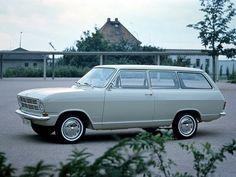 Opel Kadett Caravan 3-door (1965 – 1973).