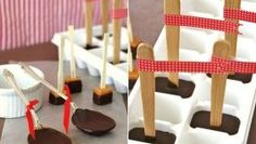 Colheres para chocolate quente • Blog do Cupcake