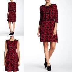 : by Taylor, Floral Knit Dress w/ Cardigan $120. Check it out! Price: $49 Size: M