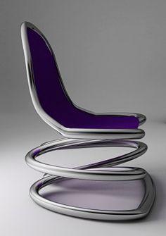 SPIRAL FRACTURE by TATIANA BORTKEVICA. @designerwallace, futuristic furniture