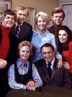 Doug, Mickey, Laura, Bill, Julie  Alice and Tom (Bill Hayes, John Clarke, Susan Flannery, Ed Mallory, Susan Seaforth Hayes, Frances Reid and Mac Carey)