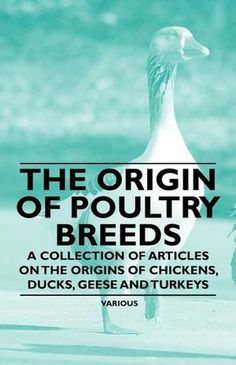 The Origin of Poultry Breeds - A Collection of Articles on the Origins of Chickens, Ducks, Geese and Turkeys  byVarious