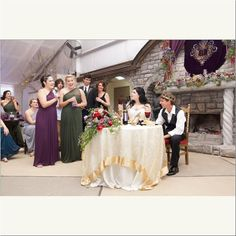 Wedding Party Toast - Photo Thirty Four