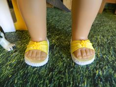 """Doll shoes for 18"""" American Girl doll or similar 18"""" doll by SewCuteJune on Etsy"""