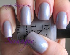 OPI - Give Me The Moon. The perfect polish for when you want something subtle but not boring.