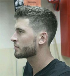 25 Best Short Haircuts for Men + Cool Hairstyles for Men - Best Hairstyle Ideas 2019 Short Haircuts 2017, Men's Haircuts, Best Mens Haircuts, Fade Haircuts For Boys, Short Hair Cuts, Short Hair Styles, Men Short Hair, Boy Hairstyles, Latest Hairstyles