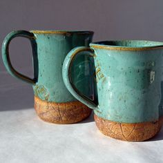 Mugs handmade ceramic coffee cup by jjpottery on Etsy