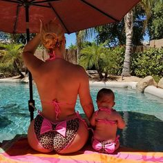 Like Mother, Like Daughter: Coco Austin and Baby Chanel Give Twinning a Whole New Meaning
