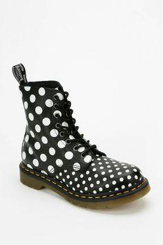 Dr. Martens Dots & Spots 8-Eye Boot