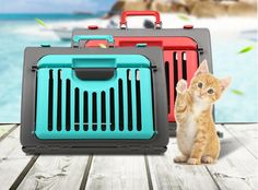 pet Aviation hand basket Pet Travel cage  kitten Dog Carrier Car Portable Collapsible Puppy Cat Cage Dog Flight Case bed