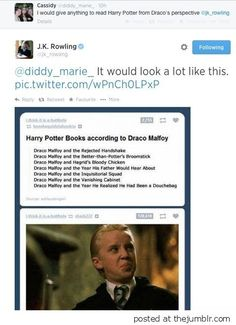 Harry Potter from Draco's point of view