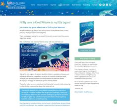 website for childrens book about a dolphin
