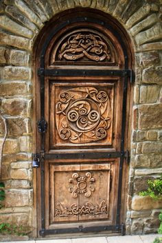 Carved Door - Moscow