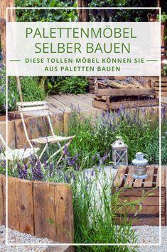 Gartenmöbel Aus Paletten Selber Bauen: Liegt Im Trend, Ist Nicht Teuer Und  Mit Etwas