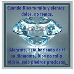 Dios talla piedras presiosas | Dios solo talla piedras preciosas - TnRelaciones