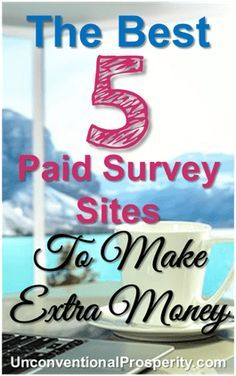 I tried these 5 survey sites and made some decent money on the side! If you want to make extra money online then I highly recommend these easy to complete surveys that pay really well!