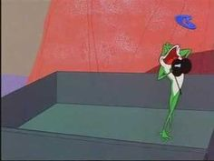 """*video - """"Michigan J. Frog"""" *  - if you're in a bad mood, just watch this..."""