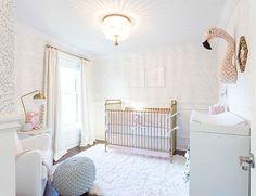 Soft & Feminine Blush Nursery - Inspired By This