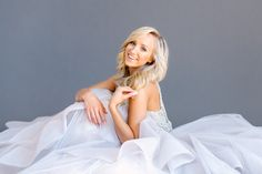 "Nastia Liukin shines in ""Dori"" gown by Hayley Paige"