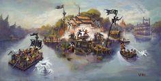 Pirates Lair, Tom Sawyer Island, Disneyland
