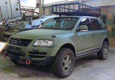 OG | Volkswagen / VW Touareg | Military version prototype for the Bundeswehr