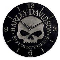 Harley Davidson Clocks