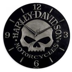 Harley Davidson Clocks