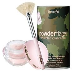 Under Eye Concealer setting powder