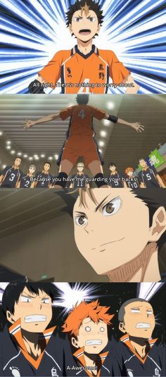 Nishinoya's Greatness! :))   #Haikyuu!!