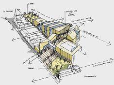 Resultado de imagen para architecture diagram sketch