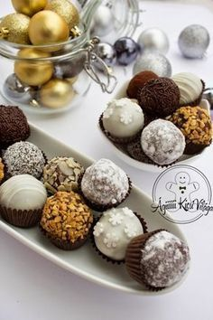 Vanilla Recipes, Easy Baking Recipes, Chocolate Recipes, Best Christmas Cookies, Christmas Desserts, Christmas Baking, Cookies For Kids, Fun Cookies, Candy Recipes