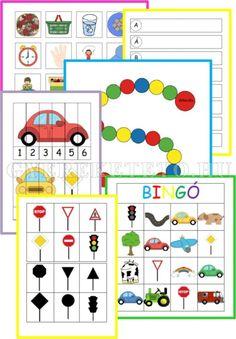 utazás gyerekekkel Petite Section, Pre School, Travel With Kids, Bingo, Free Printables, Activities For Kids, Transportation, Baby Kids, Projects To Try