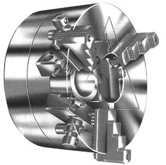 Power Operated Hollow High Speed Quick Change Jaw Chuck is designed to reduce the change over time of jaws for different components and is suitable for machining small and medium sized batches.