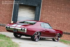 Chevelle my favorite! Id ride this....