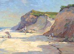 art with beach scene - Google Search