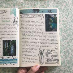 Bullet Journal Notebook, Bullet Journal School, Bullet Journal Inspo, Bullet Journal Ideas Pages, Art Journal Pages, Kunstjournal Inspiration, Art Journal Inspiration, Bullet Journal Aesthetic, Journal Themes