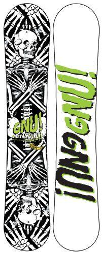 GNU Metal Guru EC2 Snowboard Blem 158 Mens