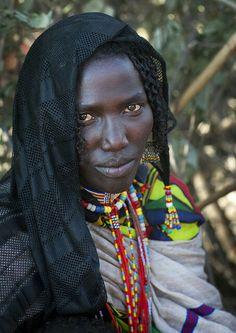 Karrayyu woman, Ethiopia