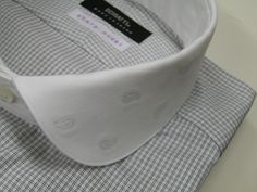 テキスタイル(織物)の話 ― 79  バックカットジャカード・ラウンドクレリックカラー    S・H - Schiatti BLOG