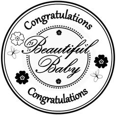 Netty's Cards: Baby Dotty - Pretty in Pink (and 3 more freebies!