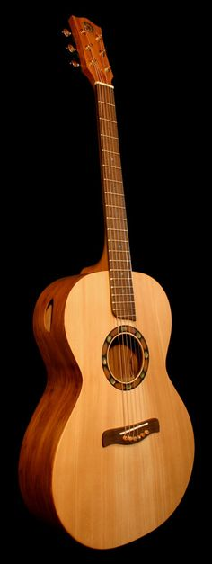 Handmade Eco Friendly Wood Acoustic Guitar Made By New Zealand Luthier Christian…