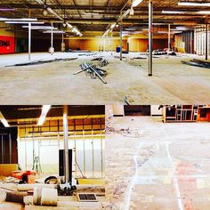 Things are really getting started at @mallofabilene, the future site for the South Branch Library.  We're taking up floors, knocking down walls, and more to offer a bigger & improved #LibraryBranch on the south side of town. #AbilenePublicLibrary #MallLocation #MallProject #Demolition #Construction #Space #Work #CantWait #MallLibrary
