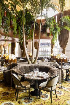 CoCo restaurant at Palais Garnier (new), Paris 09 Restaurants In Paris, Restaurant Paris, Cool Restaurant, Luxury Restaurant, Unique Restaurants, Restaurant Concept, Paris Hotels, Paris Cafe, Restaurant Ideas