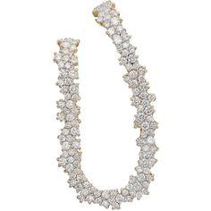 Ana Khouri Women's Izabel Earring (216.042.695 IDR) ❤ liked on Polyvore featuring jewelry, earrings, silver, 18k earrings, oval earrings, post earrings, pave earrings and 18 karat gold earrings